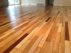 large area hardwood floor installation cleveland