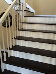 hardwood stairs and step installation